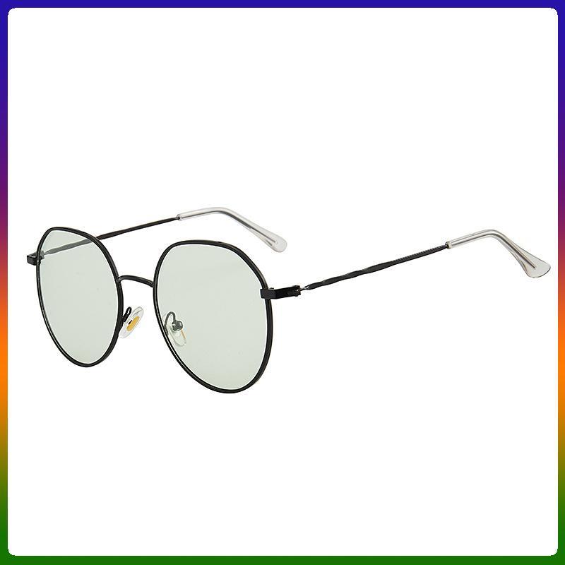 Driving mulheres óculos polarizados Photochromic Rodada Sun Shades Men Night Vision óculos de segurança Anti-azul Luz Computer Glasse