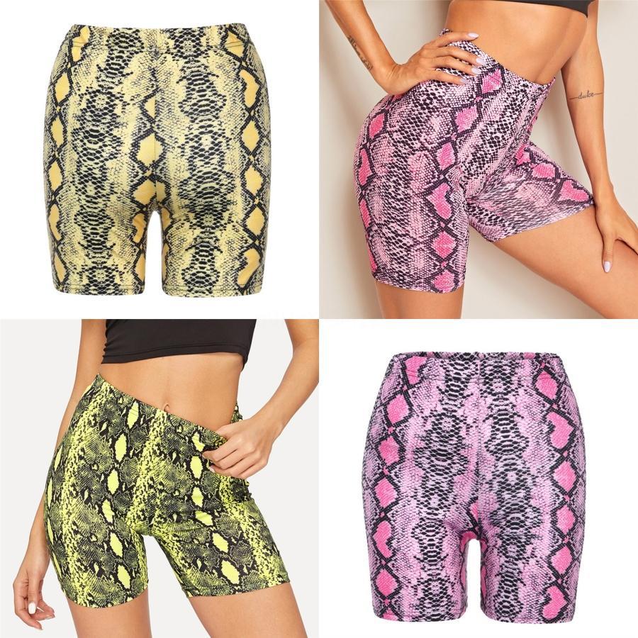 Imprimé rapide à sec ÉTIREMENT Shorts Skinny Yoga Shorts femmes Tummy Contrôle Push Up Sport court avec la hanche # 931