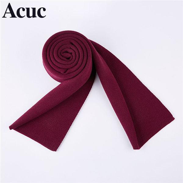 2019 Новый плиссе Малый квадрат сатин шелковый шарф 120 * 8 см женщин в горошек Цветочный печатных шарфы платок Wrap Платок