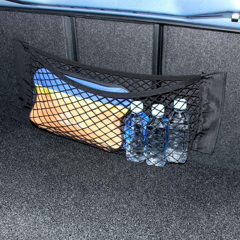 Excellent Housewares Plastic Kids Drawstring Storage Gym Swim Bag Cars
