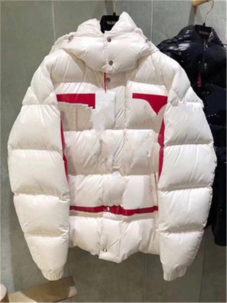 Herren Winter Daunenjacke Hohe Qualität Parka Für Männer Schwarz Blau Rot Damen Daunenjacke Mit Kapuze Mantel Mode Halten Sie Warme Ente Daunenmantel