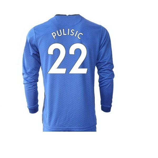 20-21 Uzun Kollu 29 Haertz 10 Pulisic Thai Quality Sports Formalar 22 Ziyech 24 9 Abraham 7 Kanté 28 Azpilicueta Özel Jersey