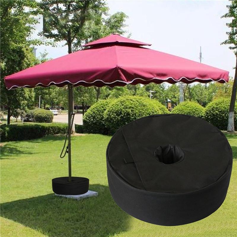 텐트 Sun 대피소 파티오 차양 4Pack 무게 가방 방풍 라운드 우산 자료 모래 주머니