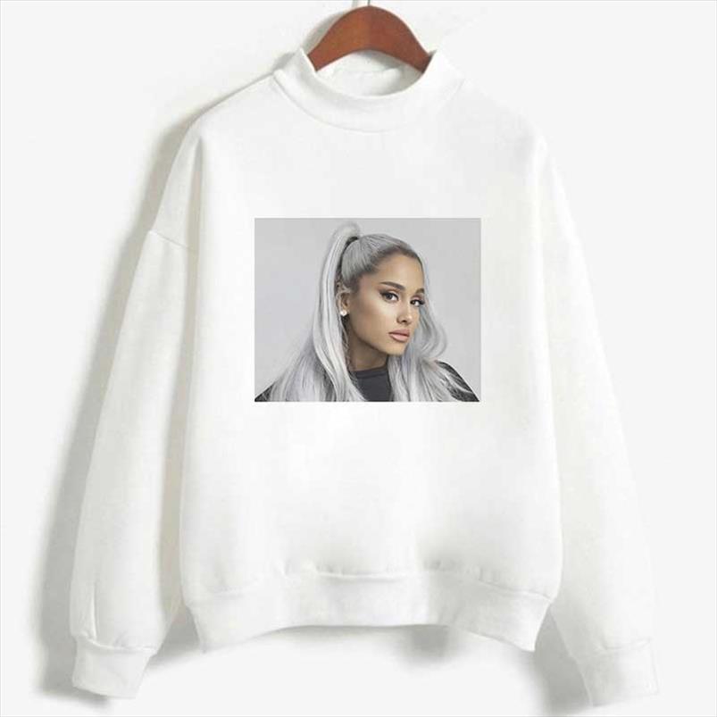 Новая мода Толстовка Гранде Толстовка Нет Tears Left To Cry Streetwear Harajuku Толстовка Досуг Sudadera Mujer