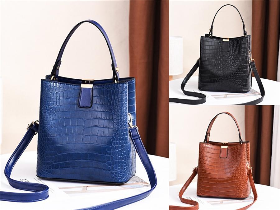 Qualitäts-Frauen New Classic Leder Umhängetaschen Damen Messenger Bag Women # 812
