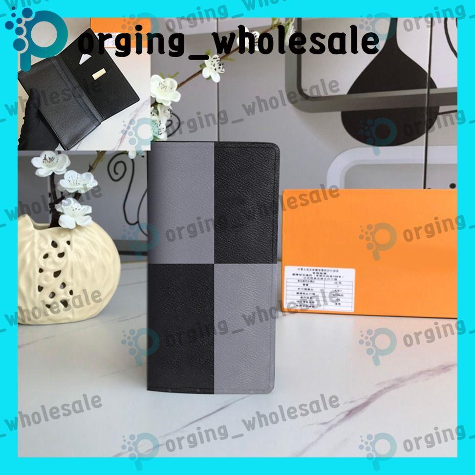 Lange Doppel-fach Brieftasche Mode Kupplung Leder Frauen Männer Geldbeutel langer Stil Mappen weibliche Art und Weise beiläufige Null Brazza Geldbörse LB100 LB106