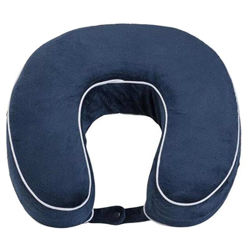 Almofada macia Memory Foam Neck Pillow Plano U-Shaped Pillow Neck Nap Resto