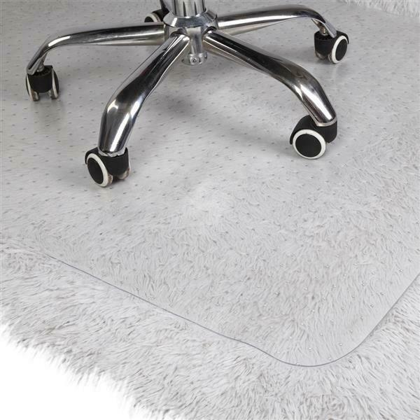 """47 """"X 35""""PVC 투명 카펫 바닥 보호 매트 패드 미끄럼 방지 사무실 책상"""