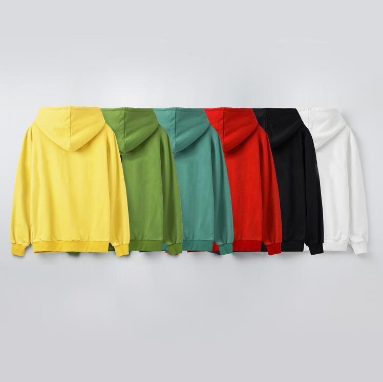 20FW Mens Entwurf Hoodies Pullover Pullover Letters printted Hoodie Frühling und Herbst Langarm-Sweatshirt Winter-Herrenkleidung 6 Farben