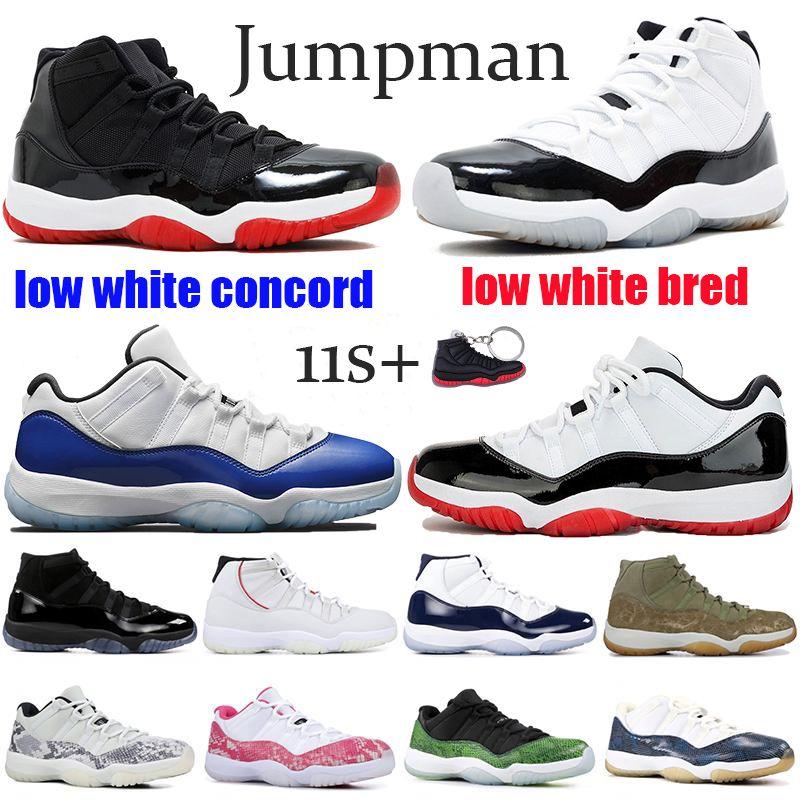11 Hombres 11s Zapatos de baloncesto New Concord 45 Platinum Tint Space Jam Gym Rojo Gana como 96 XI Zapatillas de deporte de diseñador Hombres Zapatos deportivos