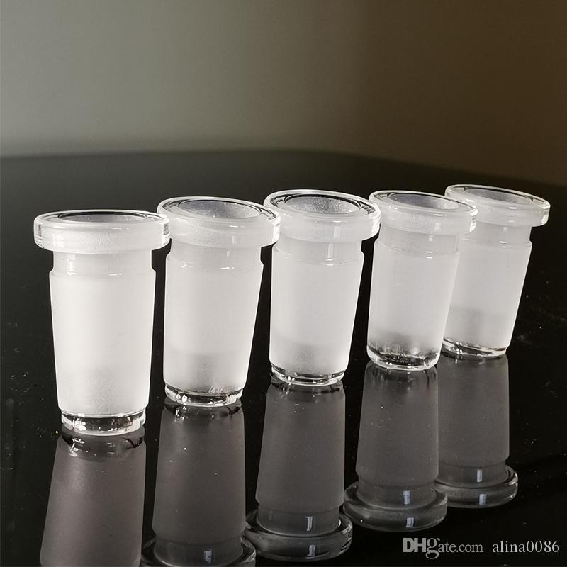 19мм Мужской стек ПРИСПОСАБЛИВАТЬ стекла Бонга 14 мм Женщина для стакан воды затяжек адаптеров