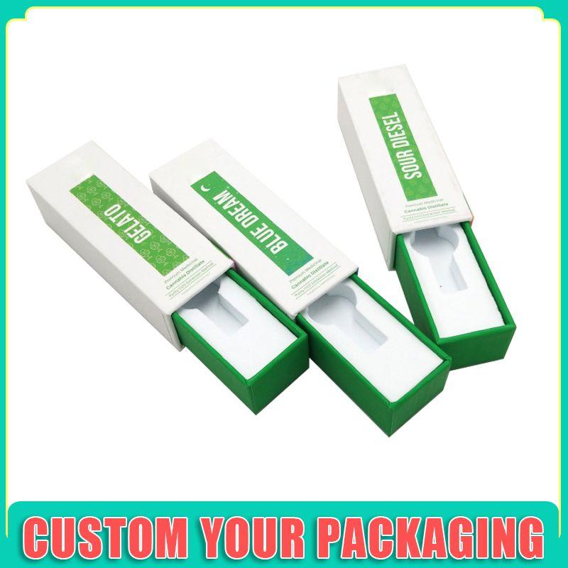 Yeni çocuk emniyetli vape kartuş atılabilir Kartuş 510 vape kartuş manyetik baskı ambalaj kutusu için kutular ambalaj