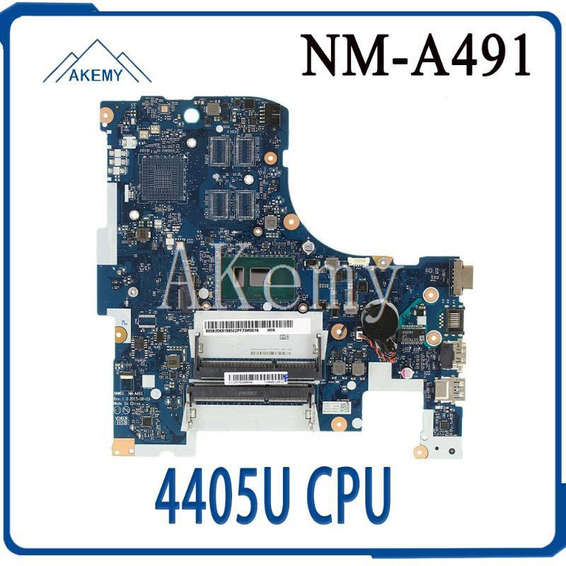 Tablet-PC-Motherboards für Lenovo IdeaPad 300-17ISK BMWD1 NM-A491 Laptop-Motherboard SR2EX 4405U CPU