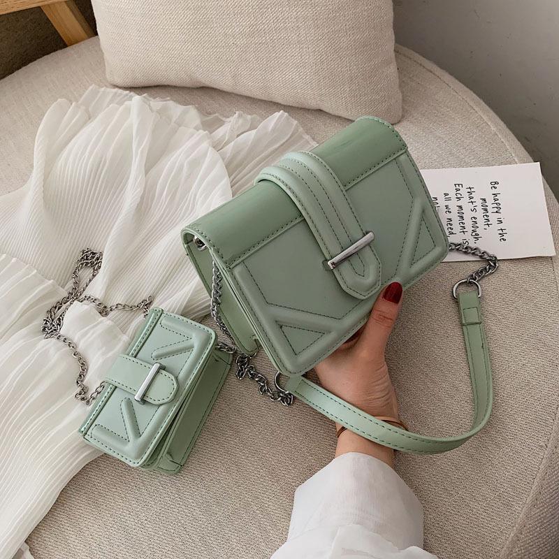 Кожа PU Crossbody Сумка для женщин 2020 Сети плеча сумки женщина путешествие сумки и кошельки мешка руки