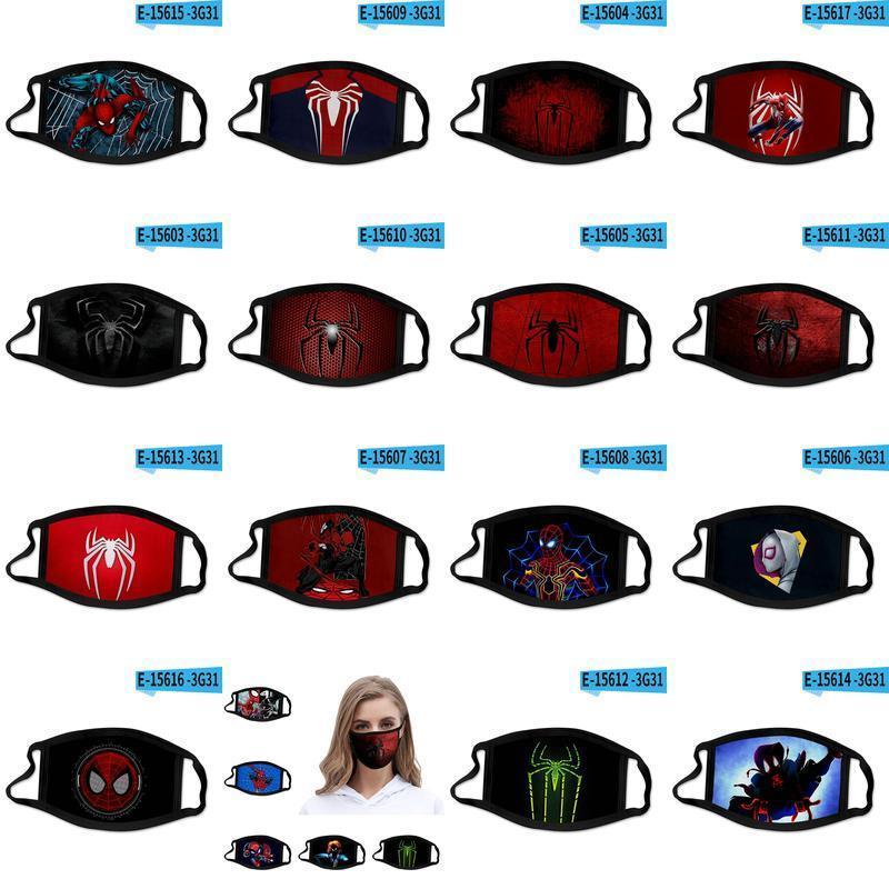 Lejos de la puerta del hogar del hombre araña de diseño Máscaras cabalgando Deporte impresión de la cara de algodón reutilizable 3D a partir de máscaras máscara facial ToCpb buy_home