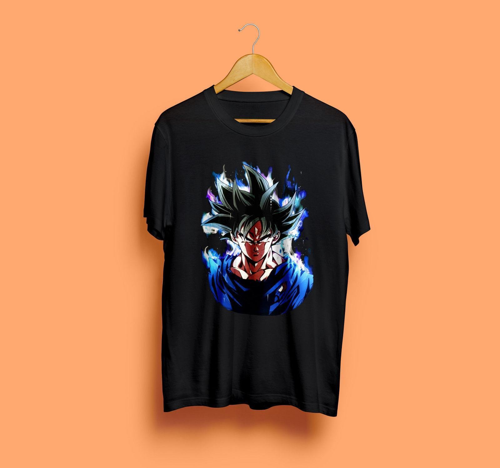 Super Goku Ultra Instinct T-Shirt Super Saiyan Vs Jiren Raffreddare il trasporto libero maglietta Harajuku parti superiori di modo