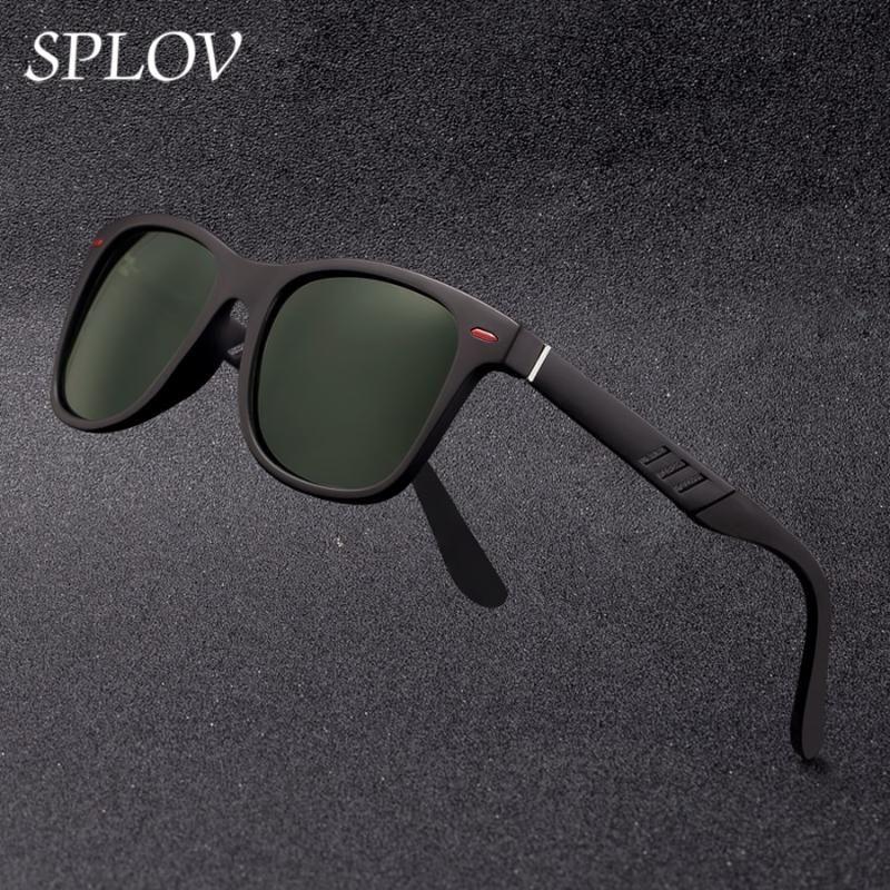 Sunglasses Fashion Sring Driving TR Aluminum Lens Legs Men Hinged Magnesium TAC New Polarized Women Frame Shades Uxran