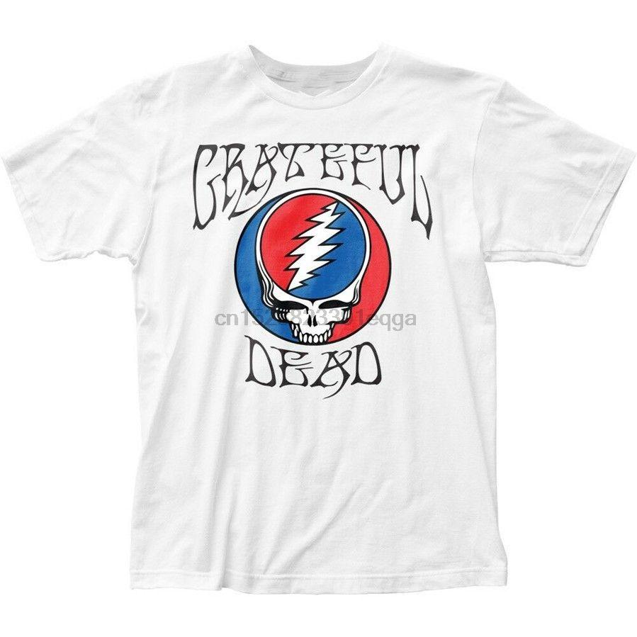 Grateful Dead Steal Your Face Syf cráneo camiseta del logotipo de S M L X 2X superior de la marca de moda Camiseta