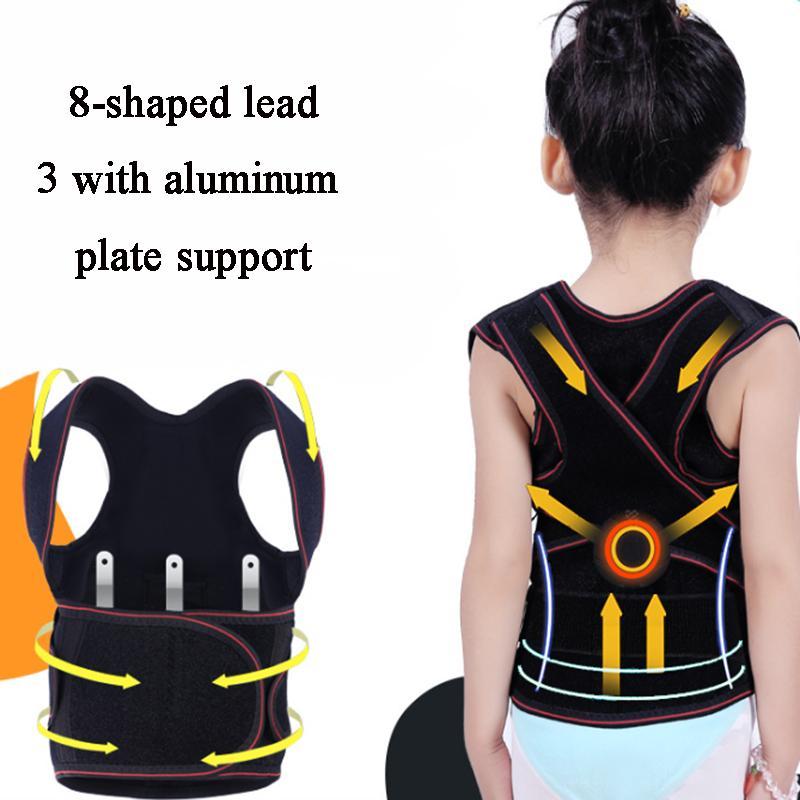 Поддержка поддержки Детский пояс Детская осанка корректор Горбатый коррекцию плеча Corset для девочек