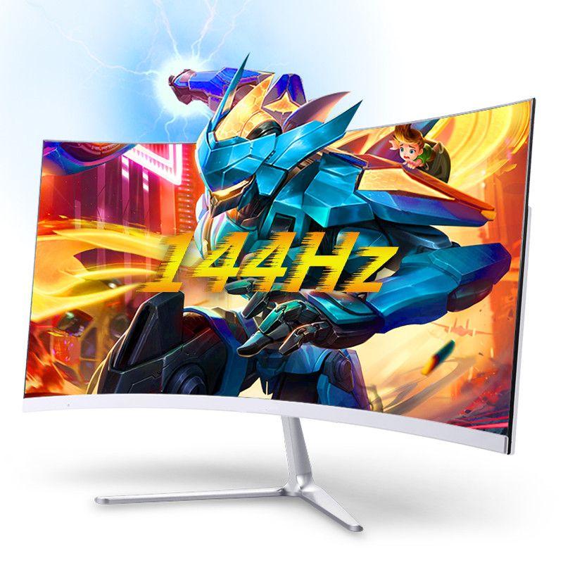 27 de alta resolução curvo secretária IPS Gaming Monitor de 27 polegadas PC Monitor