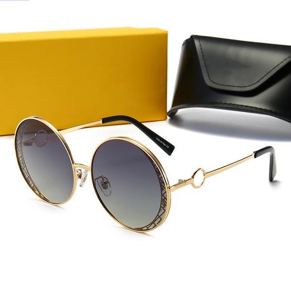 FENDI FFkutu 52 ile tom Erkek Kadın Gözlük Tasarımcı Marka Güneş Gözlükleri ford Lensler için 0358 Top Kalite Yeni Moda Güneş