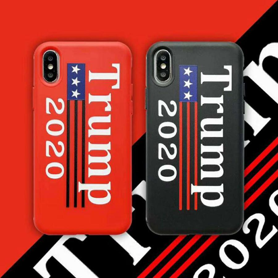 Trump Phone Case Donald Trump 2020 tampa do telefone Eleição protetora Iphone Party For Favor OOA7980