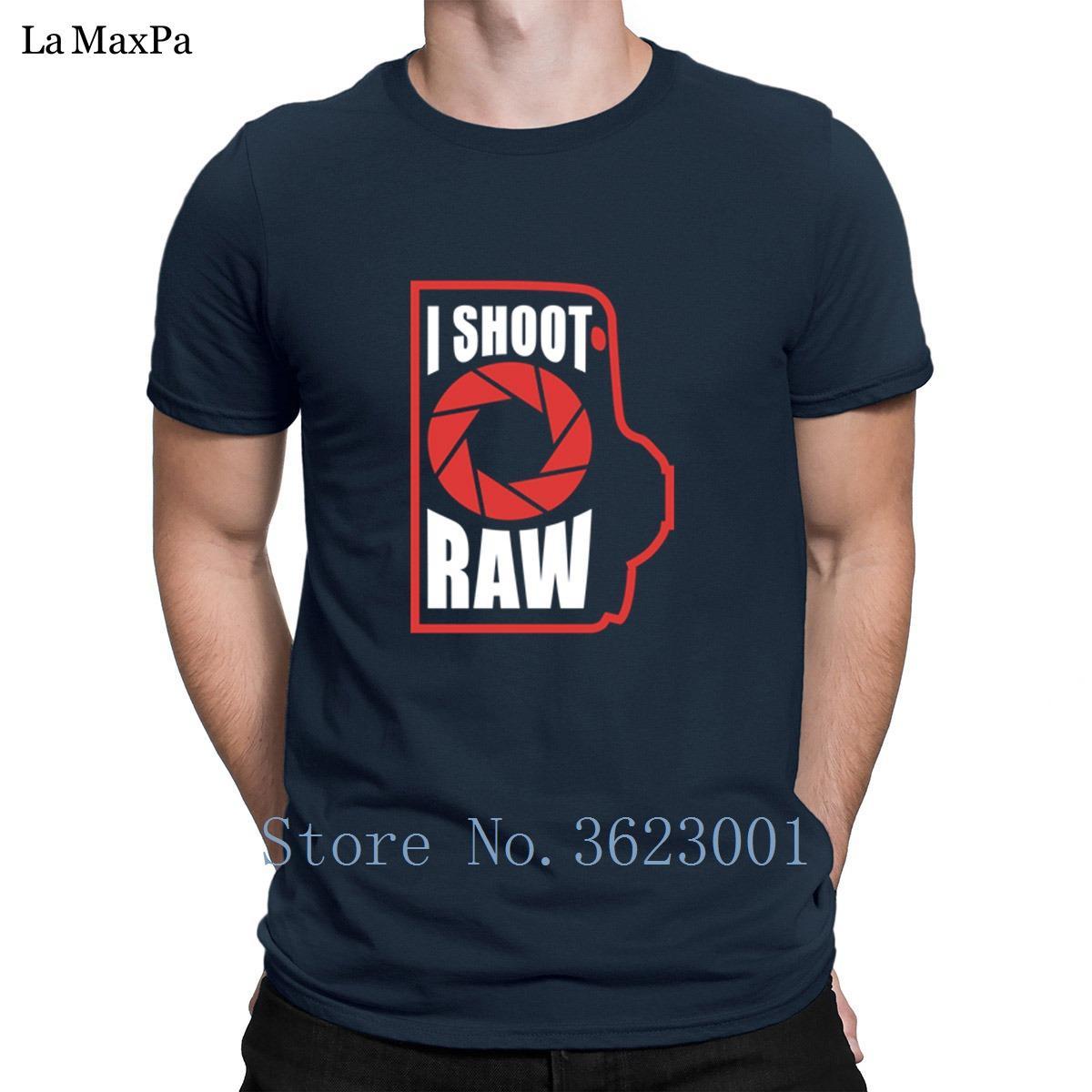 Raw T-shirt più nuova estate di stile di T shirt personalizzate I dell'annata Spara Equipaggiata Per Mens anti-rughe Cotton Semplice