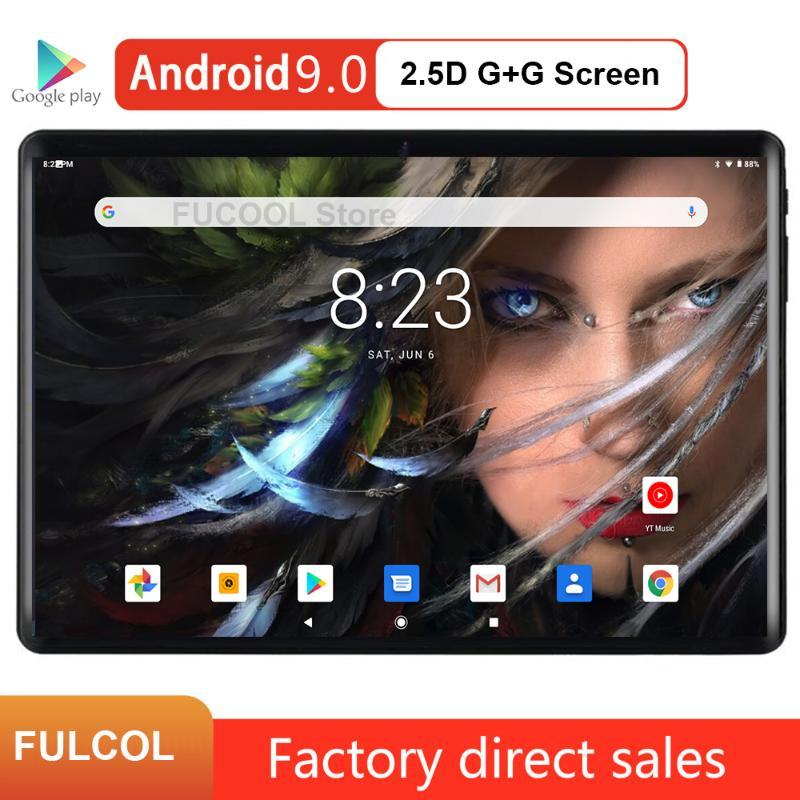 New Design 2020 Android 9.0 pie 10 inch Tablet PC 32GB ROM Storage WiFi Bluetooth 5.0MP Google Android PAD IPS 1280*800 Screen