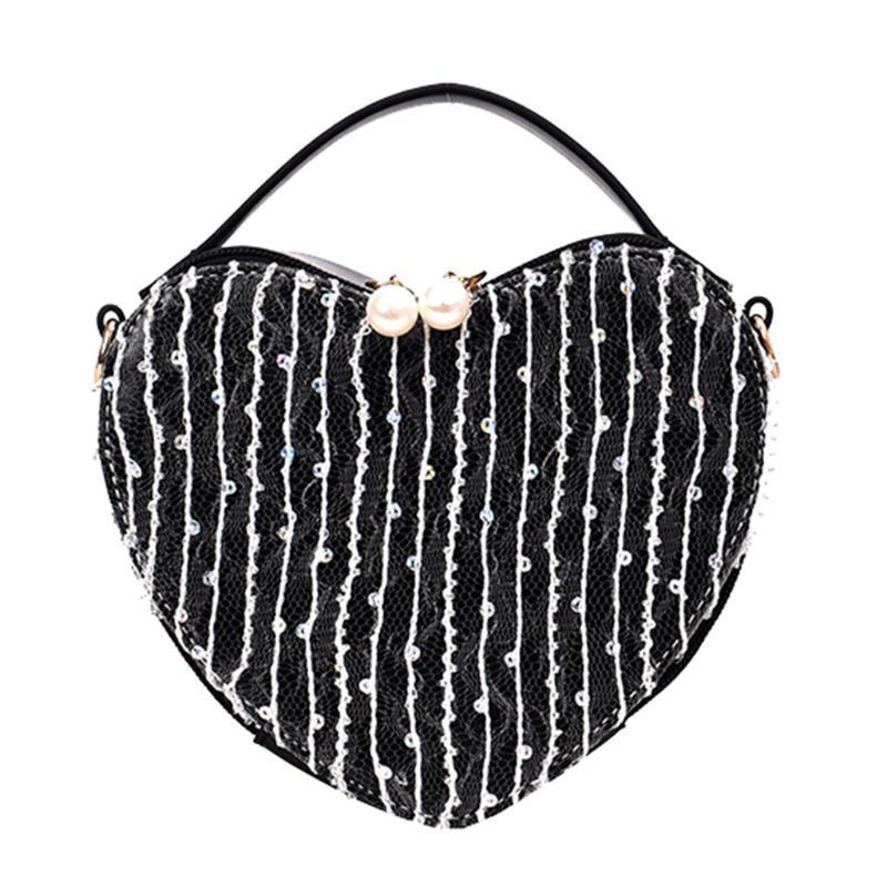 Bolsas de las mujeres para el hombro K712 Crossbody Women Bolsos Simple 2020 Pearl Crossbody para Bag Love Forma Wild Qatrj
