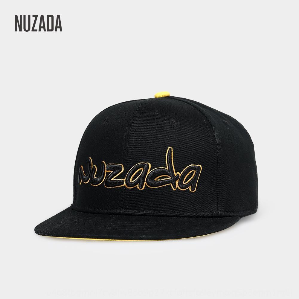 joTZP NUZADA all'aperto cappello piatto via hiphop estate di sole-ombreggiatura degli uomini hip hop di svago ballare cappello da baseball berretto da baseball berretto piatto
