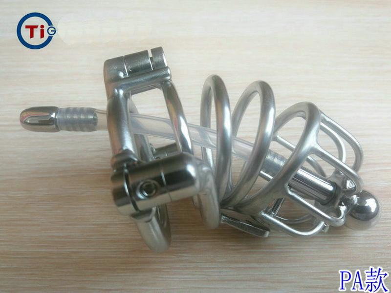 2020 New sex toys for man bdsm sm Chastity Devices Permanently or removable locked Prevent masturbation abstinence penis cage free shipping