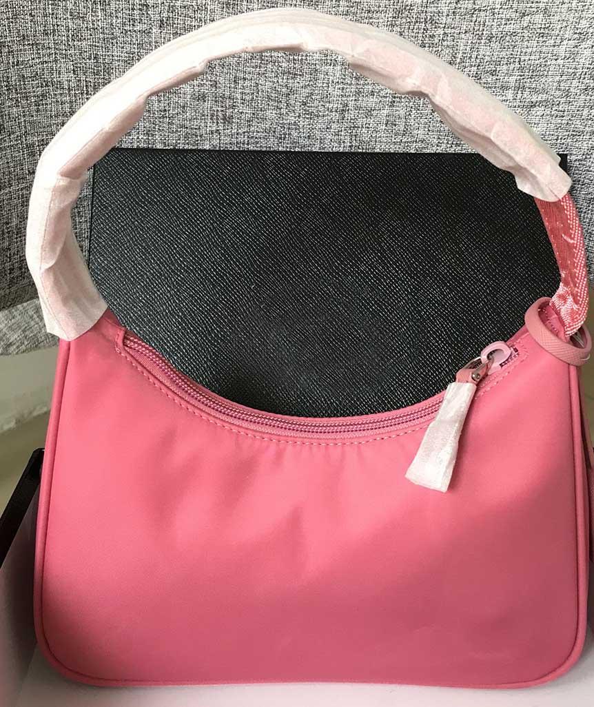 kutu ile 2020 moda çanta yüksek kaliteli deri çanta tasarımcısı en çok satan çanta kadın çantası lüks çanta naylon hobo çanta