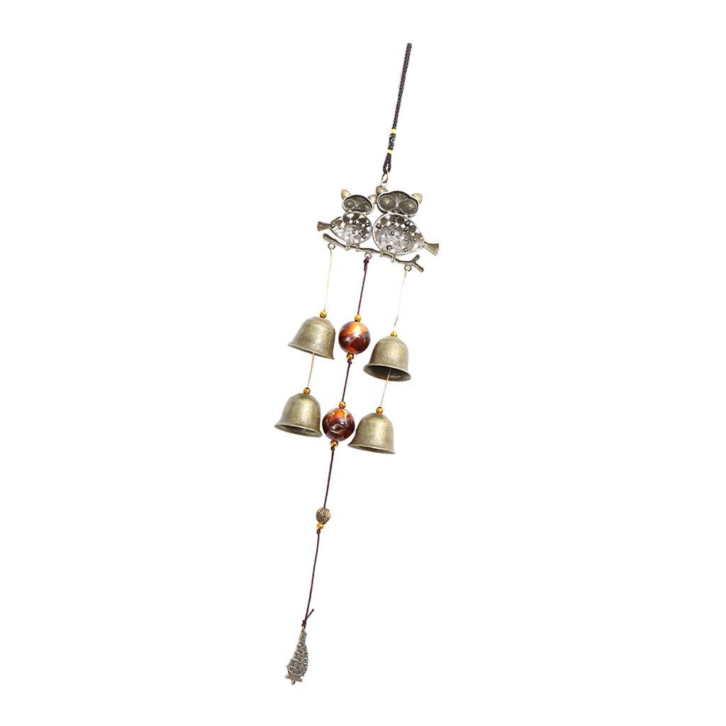 Große Wind Chimes Bell Yard Garten Dekor Ornament Windbell Geschenke
