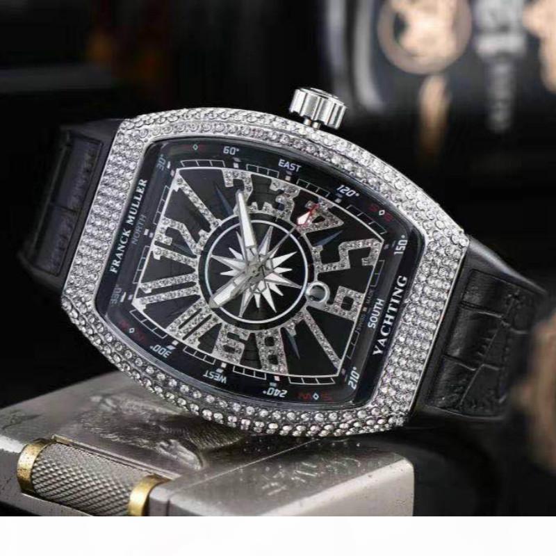 Mensentwerfer watchesIced Out Diamant Luxuxgold RM Herren-Uhren Automatik Datum Designer Famous Armbanduhr beiläufige Männer L
