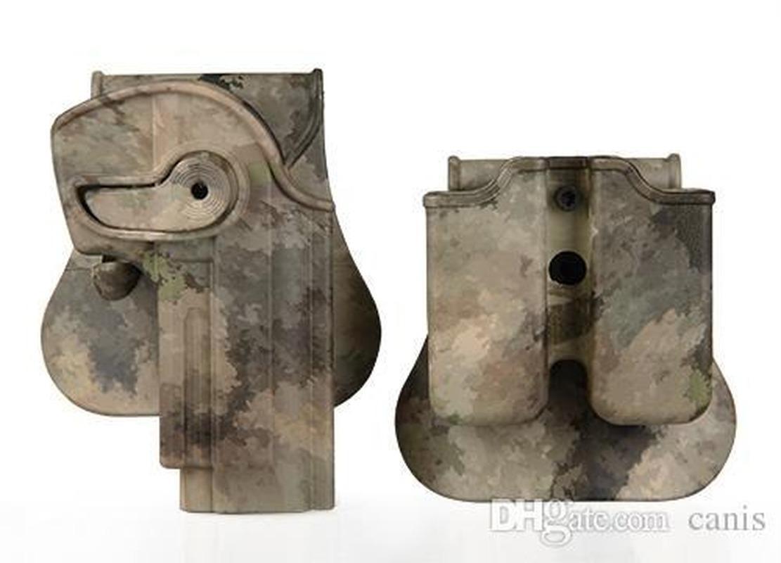 Nuovo arrivo / M95 fondina pistola M92 con pagaia in plastica dura per il tattico / Shooting Usa CL7-0033