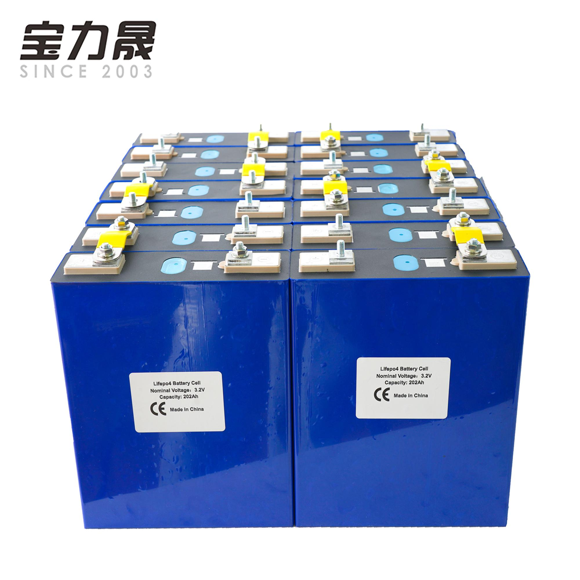 16PCS 3.2V 200Ah lifepo4 células de lítio de fosfato de ferro 48V200ah solar não 120Ah 150AH 280Ah UE US TAX FREE Entrega rápida