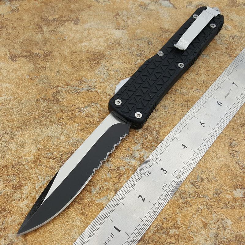 A327 titanize multi-fonction couteau pliant tactique couteau de poche extérieure de haute qualité a aidé des outils de camping structure lisse
