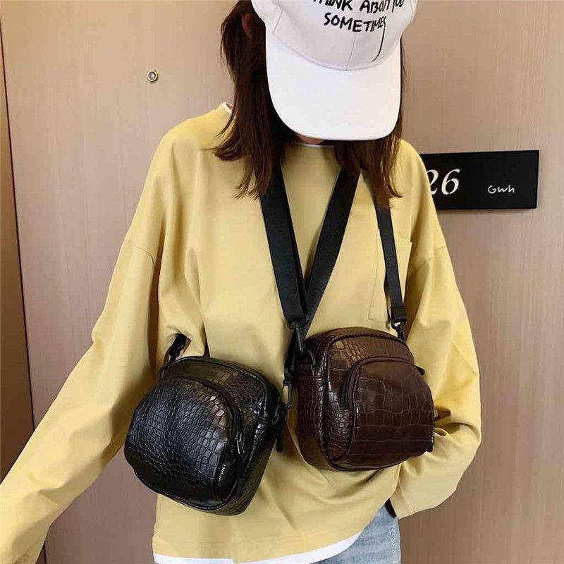 Leather Fashion Borse cross-body per le donne 2020 coccodrillo modello Piccolo Shoulder Bag Messenger Lady borse di viaggio e borse # 4