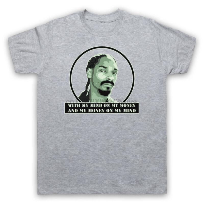 Джин и сок Snoop Dog Undoggy Rap T-Shirt Mens дамы Дети Размеры Cols