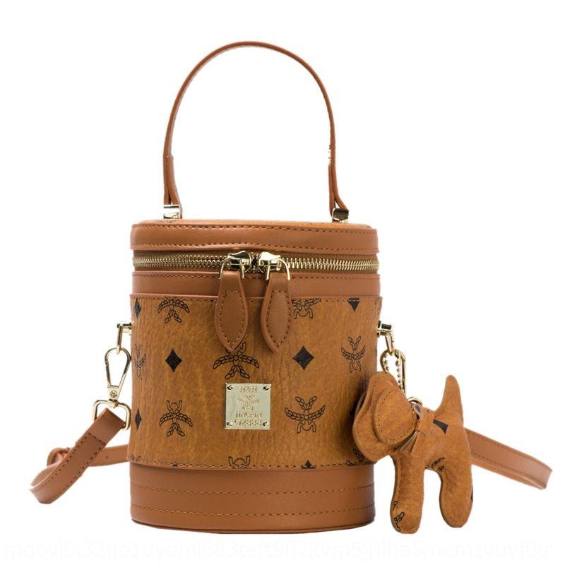 Женская сумка ведро 2020 новых Ins моды женщины все соответствует портативному плечу сумки моды ведро сумка W11tc