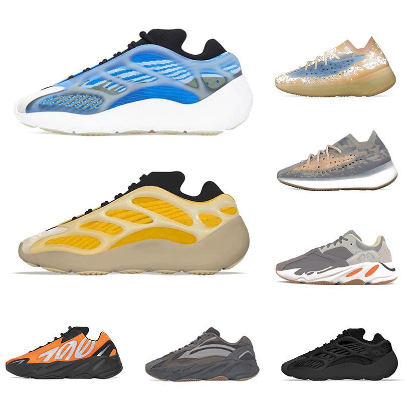 adidas yeezy 700 V3 yeezys 380 Blue Oat reflexivo Kanye west Tênis de corrida masculino feminino V2 Mauve Utility Black Wave Runner Alien 700s tênis masculino de design esportivo