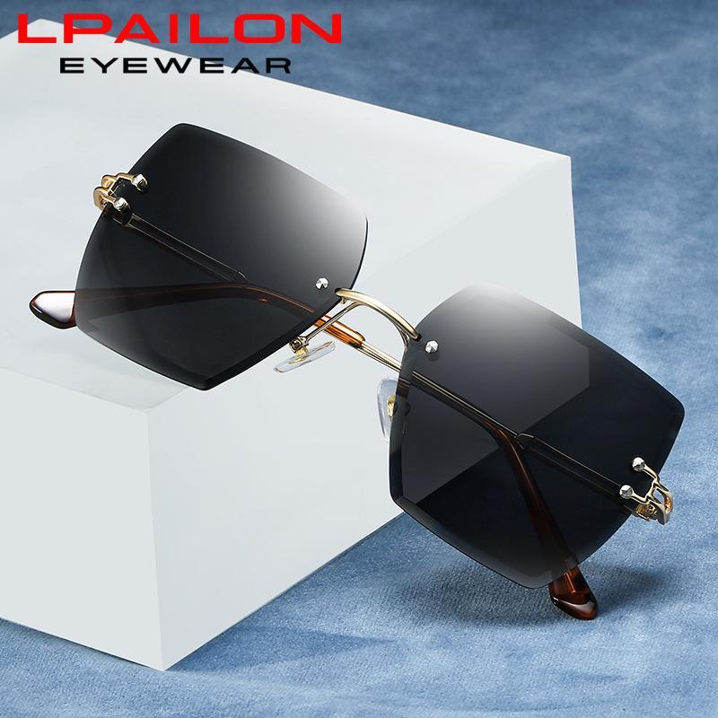 Shade gafas polarizadas de los hombres de conducción de los vidrios UV400 gafas de sol de las gafas de sol de las mujeres de la vendimia de las mujeres retras Espejo