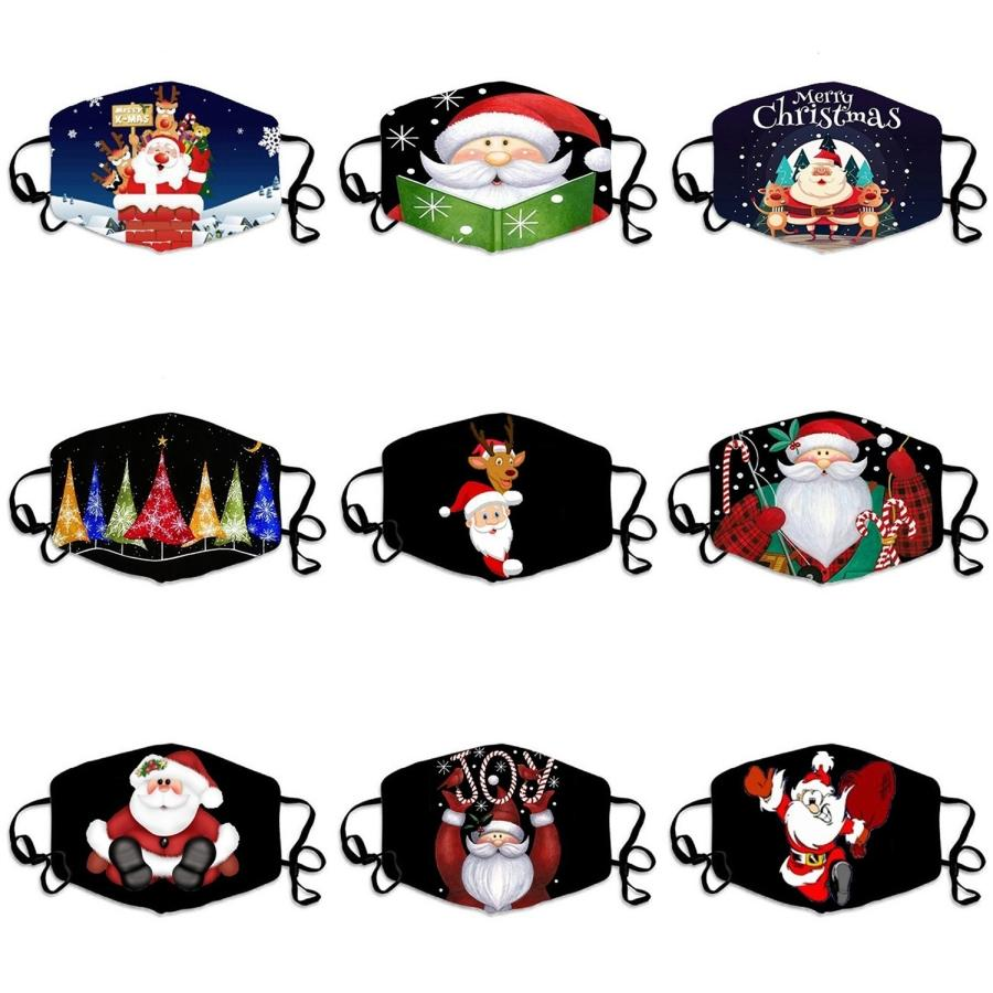 Sevimli Maske Baskı Pembe CartoonFace Maskeler Yetişkin PrectiveFabric Sevimli Ağız Kapak Yıkanabilir # 700 Maske