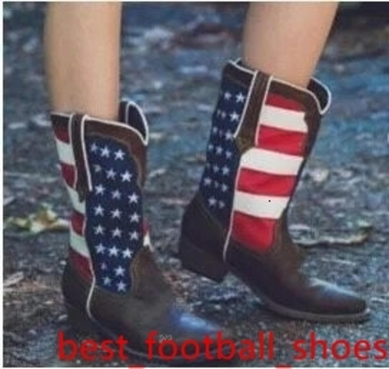 Zapatos para mujer con Knight tobillo invierno botas de cuero de arranque Brown Negro Mujeres diseñadores de moda tire del zapato bajo del talón