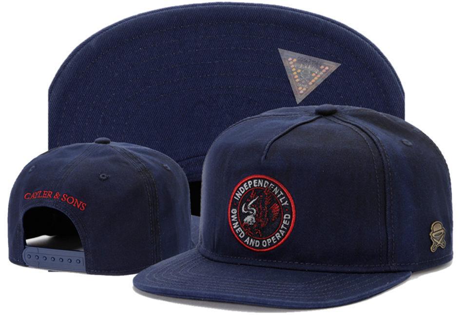 nouvelle Cayler Sons cap mode baseball réglable unisexe hommes et femmes chapeaux d'ombre occasionnels # 0170