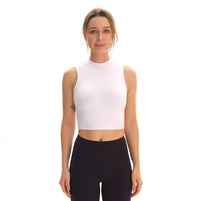 luyogasports deportes lu yoga tops chaleco de las mujeres ropa ajustada de alta elasticidad de la aptitud funcionamiento de la gimnasia deportiva lu tapas ocasionales de la ropa interior de la camisa
