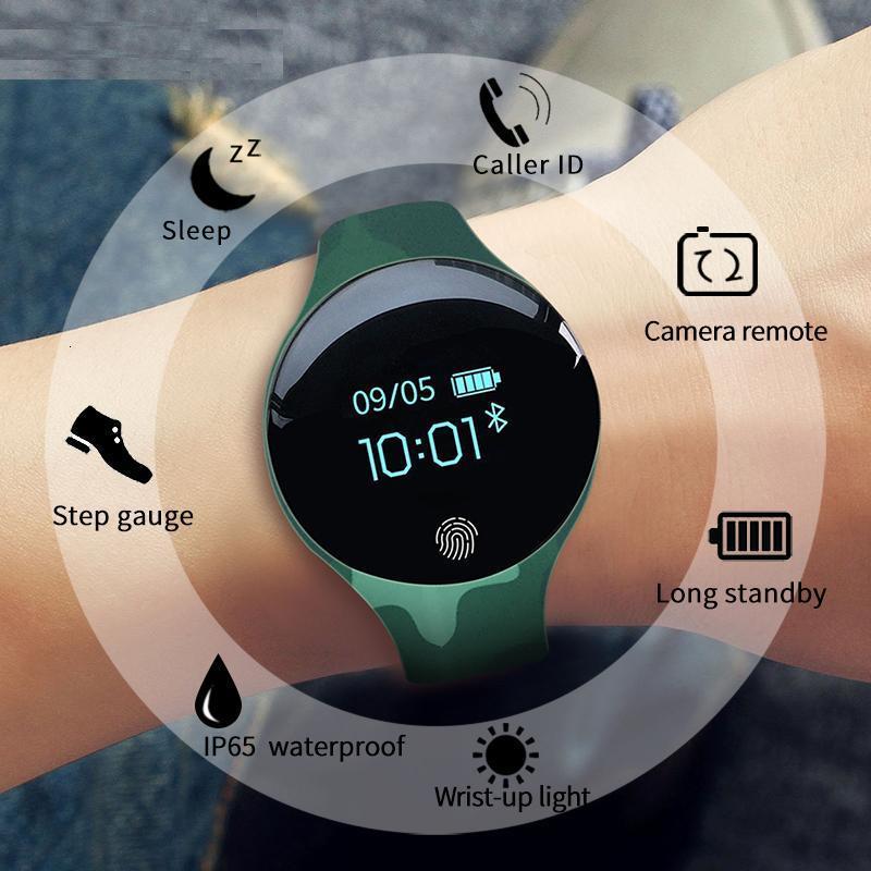 Luxury Women Men Sport Watches Calorie Pedometer Bracelet Sleep Tracker Massage Remind Smart Wristwatch Alarm Clock Android Ios