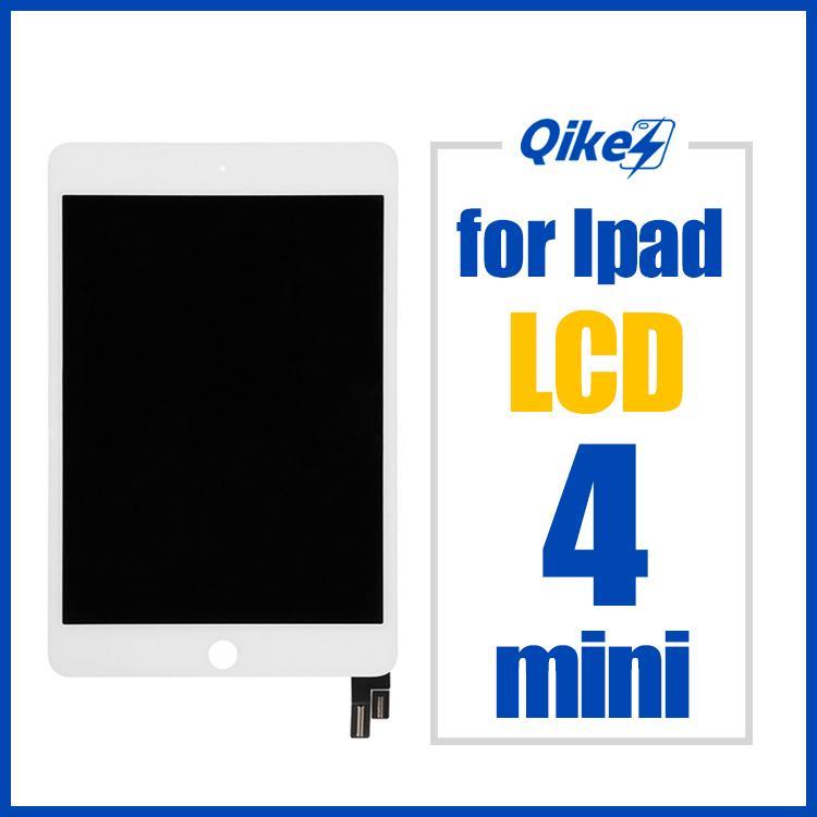 Testado LCD para o iPad mini-4 Mini4 A1538 A1550 EMC 2815 EMC 2824 Screen Display LCD de toque de substituição Assembly Panel digitador