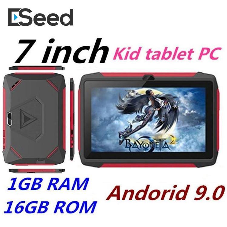 2020 Newest Chlidren kid Tablet PC Q98 Quad Core 7 Inch 1024*600 HD screen 1GB RAM 16GB with Bluetooth wifi with Retail box