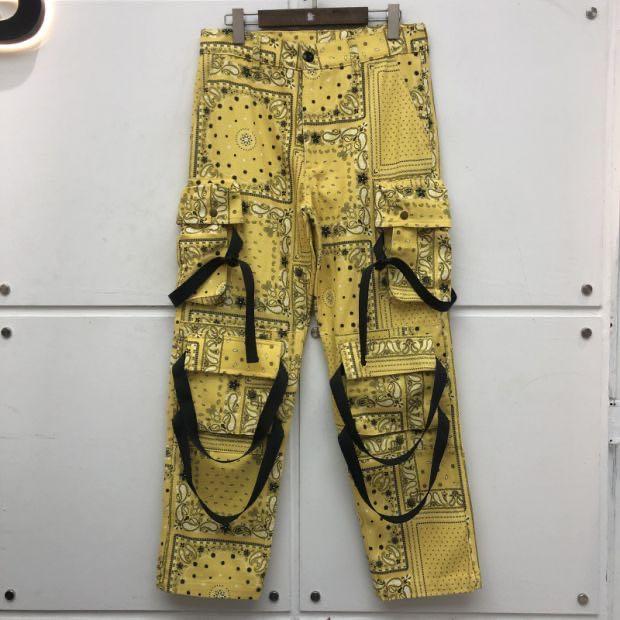 2020FWSS style Streetwear Salopette Hommes Femmes de haute qualité Casual pantalon loose Pantalons